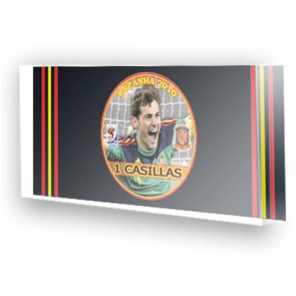 Jogo da Espanha Campeã Copa 2010