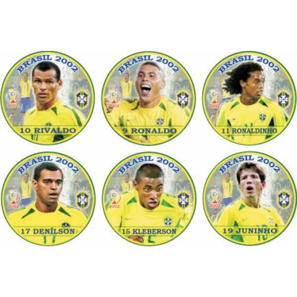 Jogo do Brasil Campeão Copa de 2002