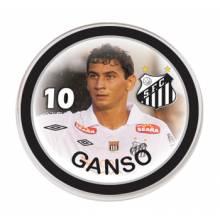 Botão do Santos - Ganso