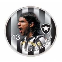 Botão do Botafogo - Loco Abreu