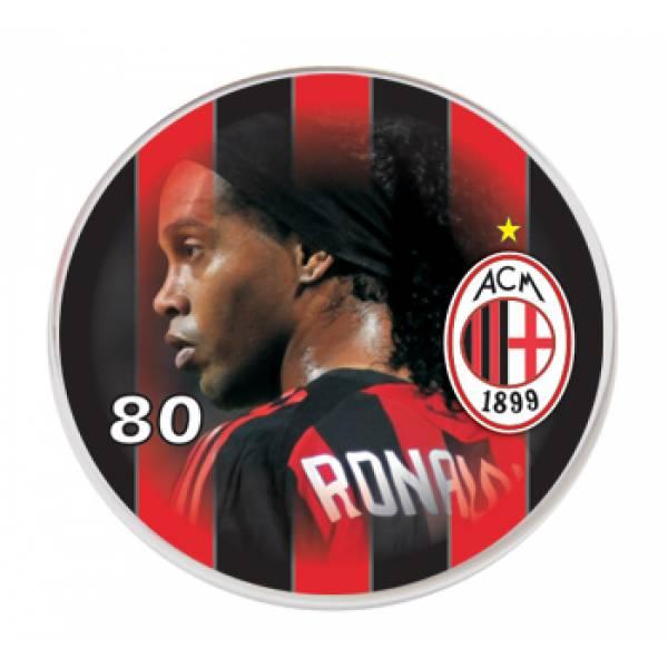 Botão do Milan - Ronaldinho