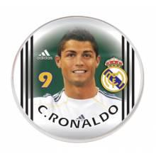 Botão do Real Madrid - Cristiano Ronaldo