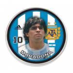 Botão da Argentina - Maradona
