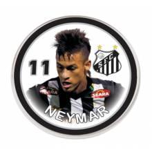 Botão do Santos - Neymar