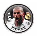 Botão do Real Madrid - Zidane