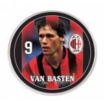 Botão do Milan - Van Basten