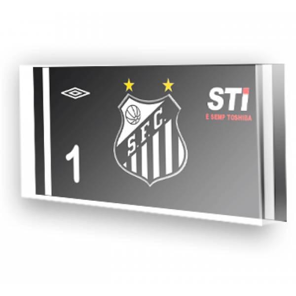 Goleiro do Santos - Preto