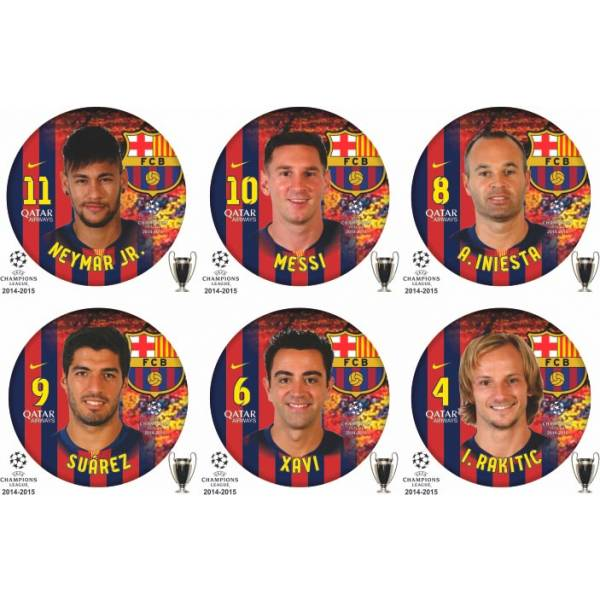 Jogo do Barcelona - UEFA Champions League - 2014 - 2015