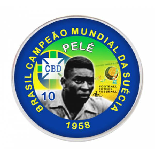 Jogo do Brasil Campeão Copa de 1958